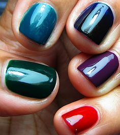 Top 10 Best Nail Colors for Winter Fall Season 2015-2016 (6)