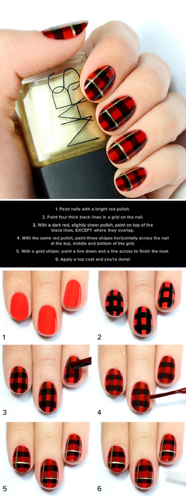 Christmas Top Ten Best Nail Art Designs Tutorials 2017-2018