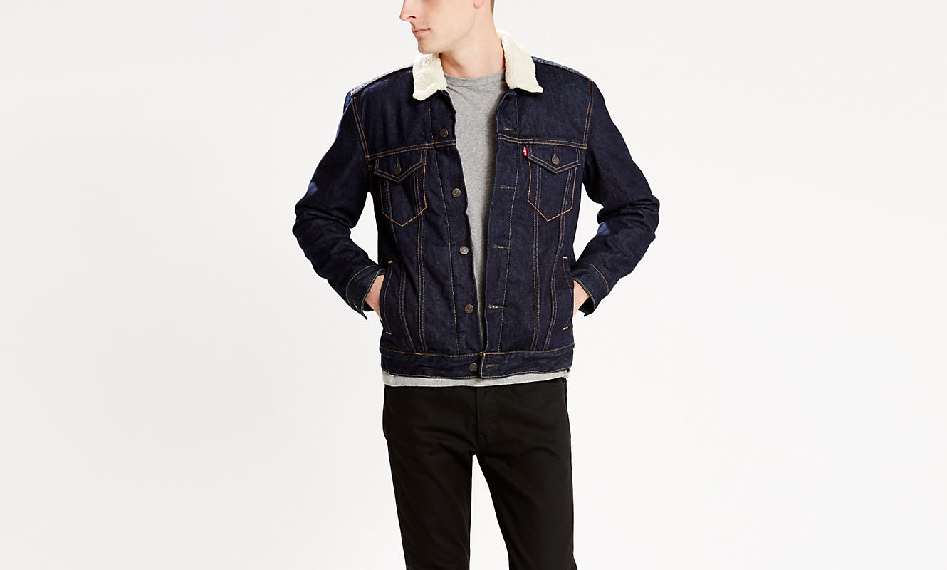 THE SHERPA TRUCKER JACKET-levis