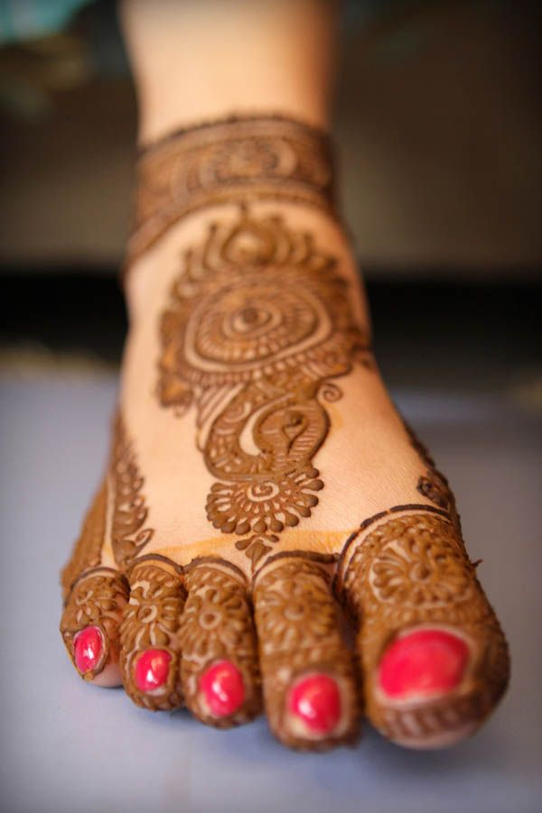 Bridal Mehndi Designs Collection 2016 2017 For Wedding Brides 9