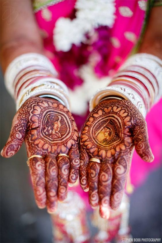 Latest Bridal Mehandi Designs Trends for Weddings (1)