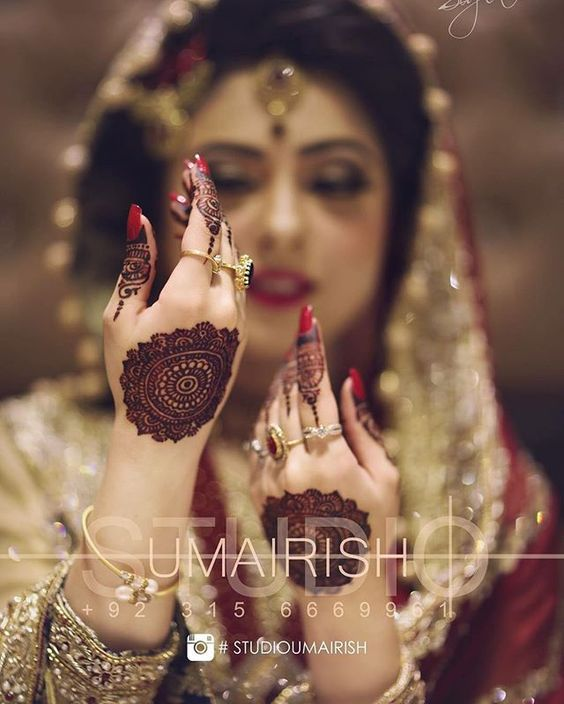 Latest Bridal Mehandi Designs Trends for Weddings (4)