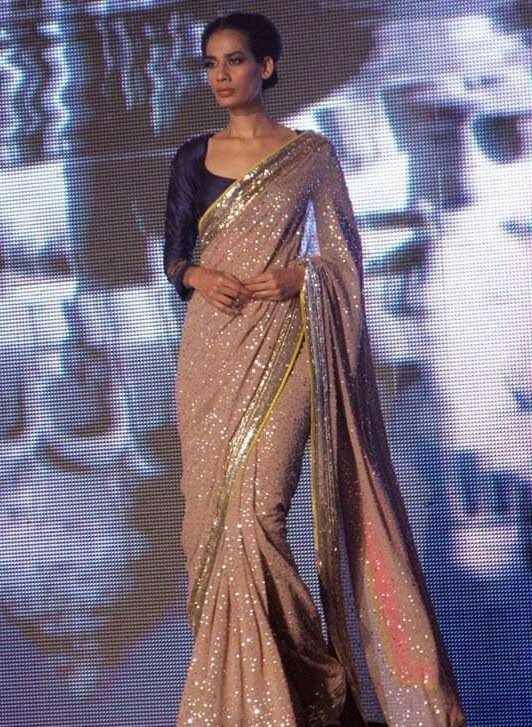 Manish Malhotra Latest Indian Designer Sarees (3)