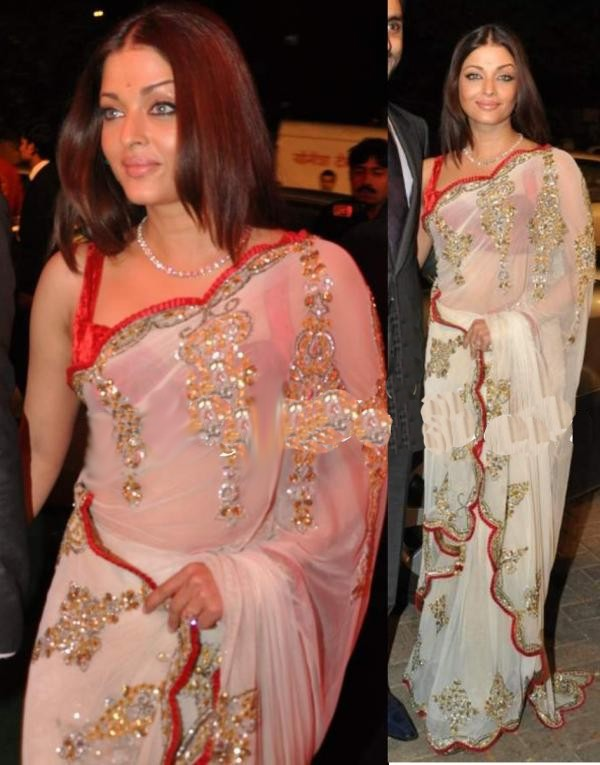 Manish Malhotra Latest Indian Designer Sarees (6)