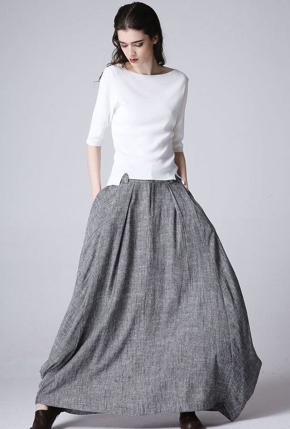 Trend of Skirt maxi Dresses (2)