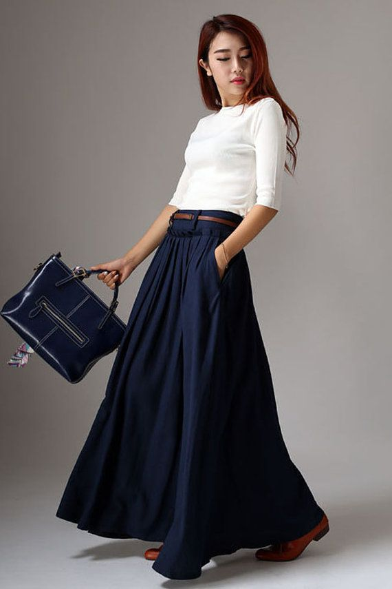Trend of Skirt maxi Dresses (7)