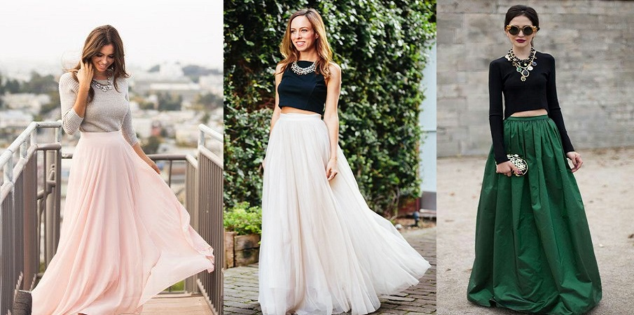 Latest Skirt Maxi Dresses Trends u0026 Designs Collection 2018-2019