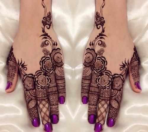 Wedding mehndi designs for bridals 2016-2017 (15)