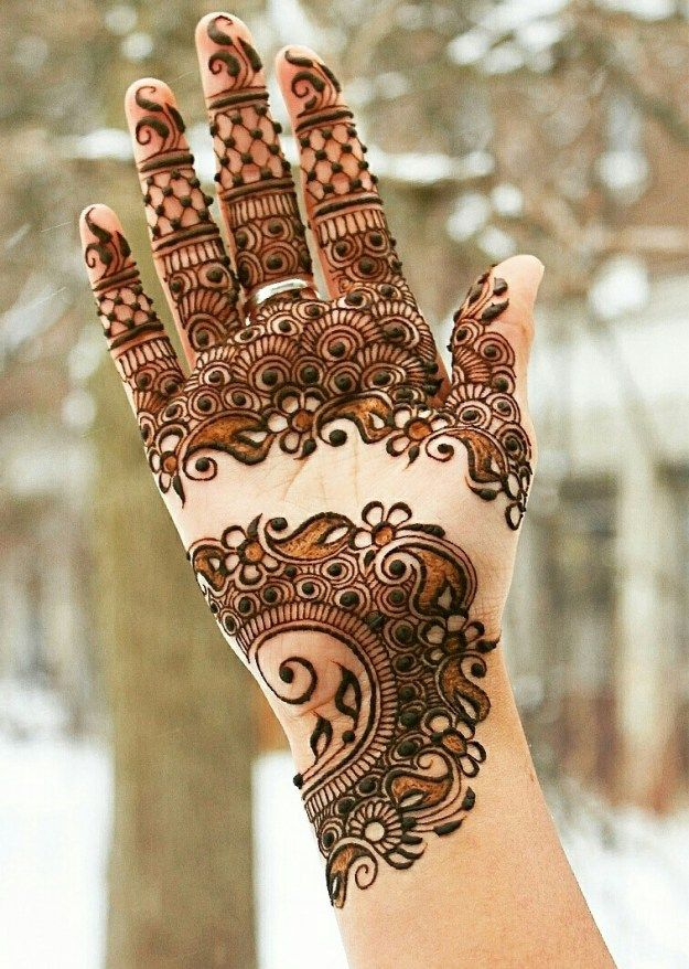 Wedding mehndi designs for bridals 2016-2017 (4)