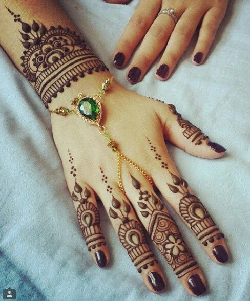 Wedding mehndi designs for bridals 2016-2017 (9)