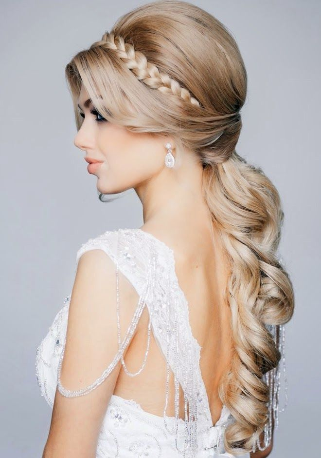 Best & Top 9 Braided Hairstyles for Wedding Bridals 2016-2017 (10)