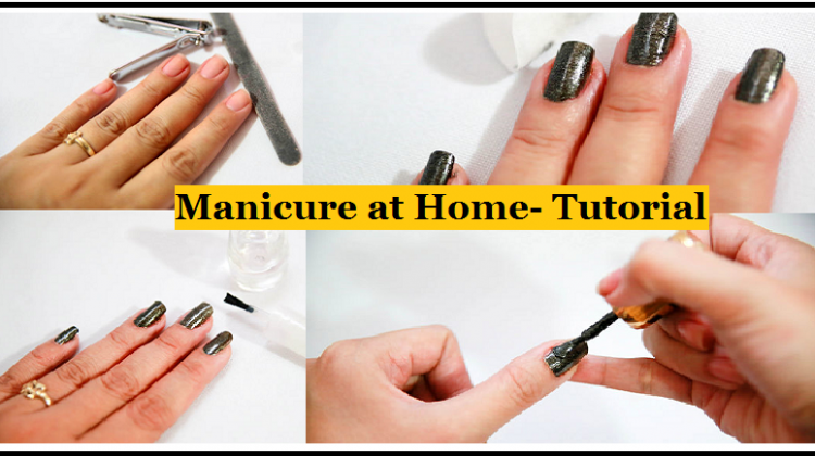 How to do a Perfect Manicure at Home- Step by Step Tutorial