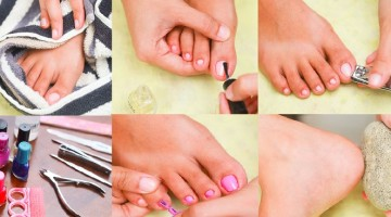 How to do a Perfect Pedicure for Feet at Home- Tutorial Step-by-Step