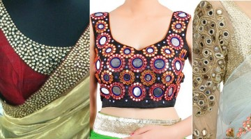 Top 5 Popular Embroidered Sarees & Blouses for Bridals