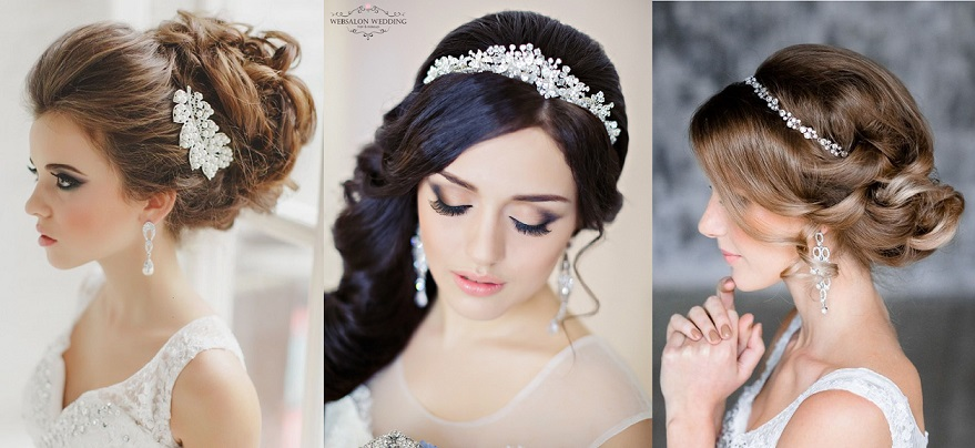 Bridal Headpieces & Hair Accessories for Wedding Hairstyles
