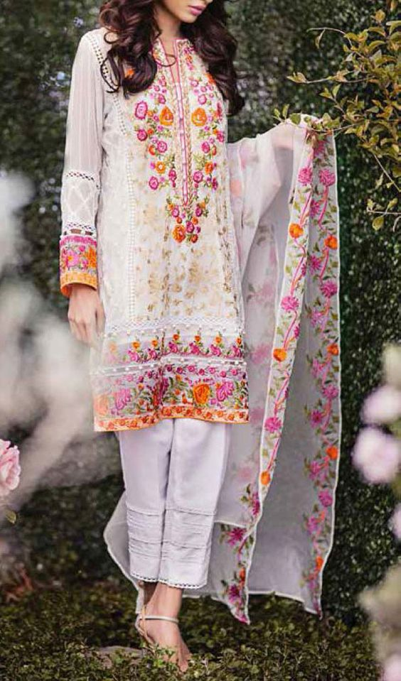Party Wear Embroidered Dresses Designs Collection 2016-2017 (17)