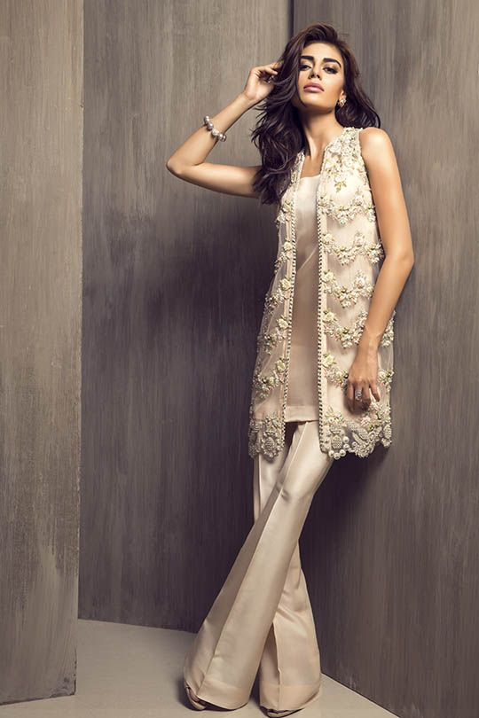 Party Wear Embroidered Dresses Designs Collection 2016-2017 (19)