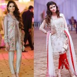 Best Party Wear Embroidered Dresses Designs 2017-2018 Collection
