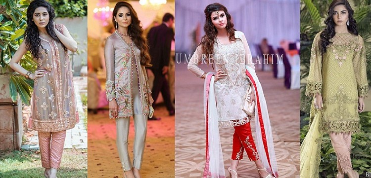 Party Wear Embroidered Dresses Designs Collection 2016-2017 (2)