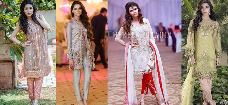 Best Party Wear Embroidered Dresses Designs 2018 2019 Collection