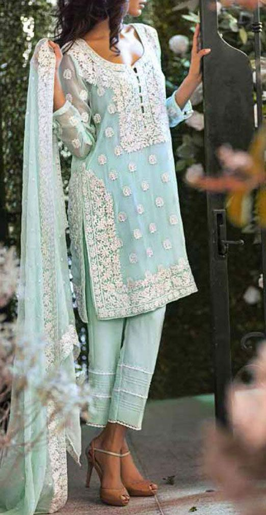 Party Wear Embroidered Dresses Designs Collection 2016-2017 (21)