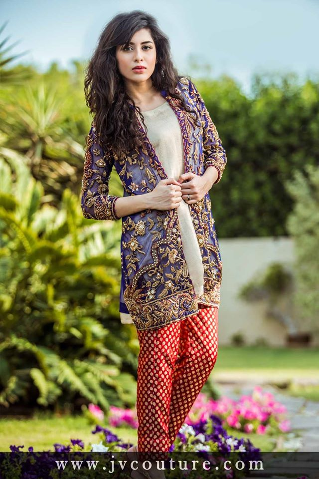 Pakistani Party Wear Dresses 2017 Images 32
