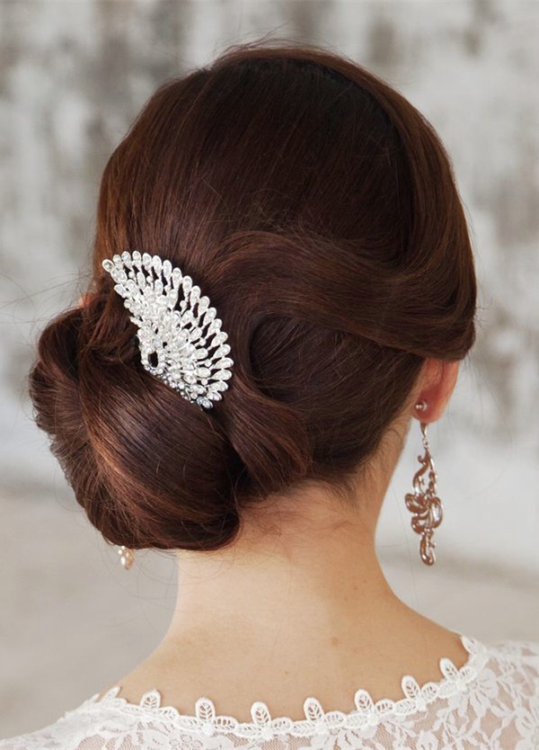 unique-peacock-inspired-crystal-bridal-headpieces-for-updo-wedding-hairstyles