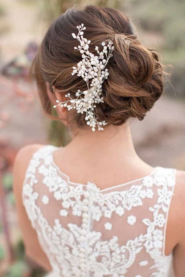 wedding-updo-hairstyles-with-pearl-bridal-headpieces