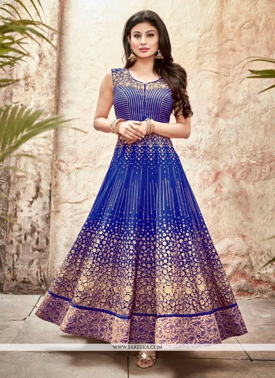 Fancy Indian & Asian Anarkali Umbrella Frocks (1)