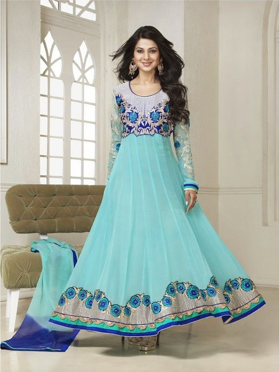 Fancy Indian & Asian Anarkali Umbrella Frocks (16)