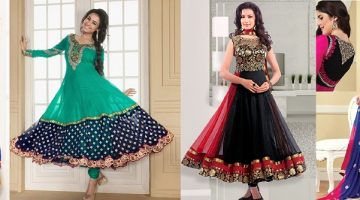 Fancy Indian & Asian Anarkali Umbrella Frocks