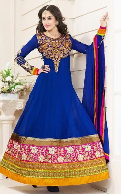 Fancy Indian & Asian Anarkali Umbrella Frocks (6)
