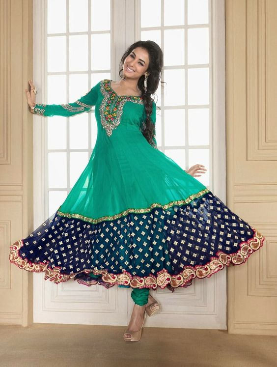 Fancy Indian & Asian Anarkali Umbrella Frocks 2019 Collection