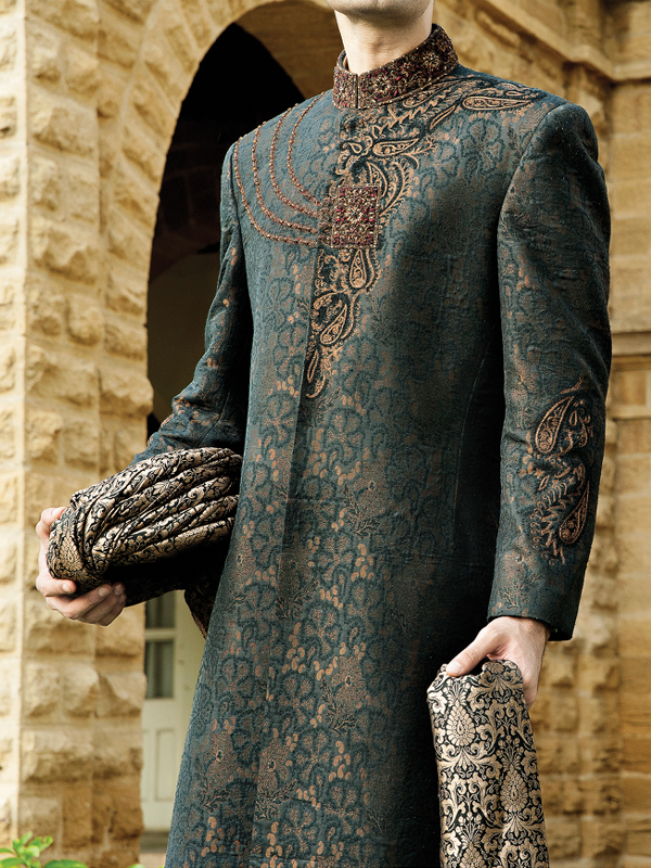 J.Couture Latest Men Sherwanis Wedding Dresses Collection 2018-2019