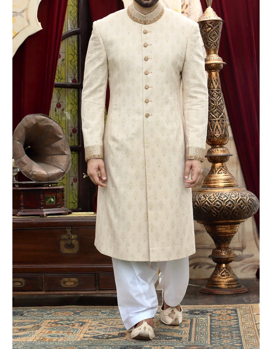 Jamshed junaid j. couture latest sherwani collection rare photo