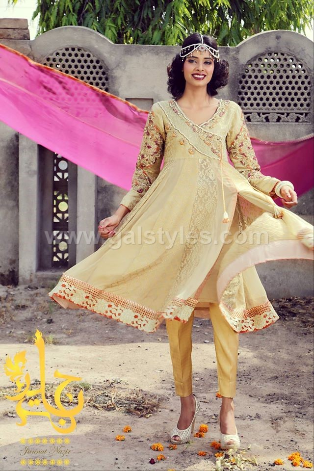 Latest Angrakha Style Dresses Trends. galstyles.com (6)