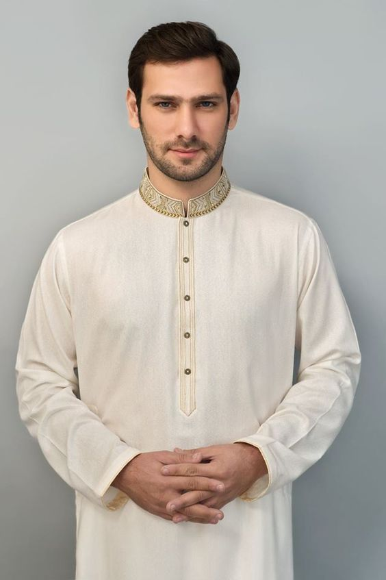 Mens Embroidered Kurta Designs