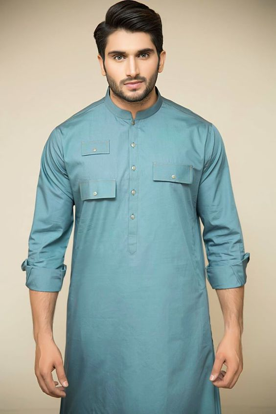 Men Summer Kurta Trends & Designs (15)