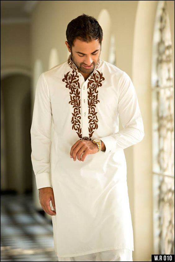 Men Summer Kurta Trends & Designs (16)