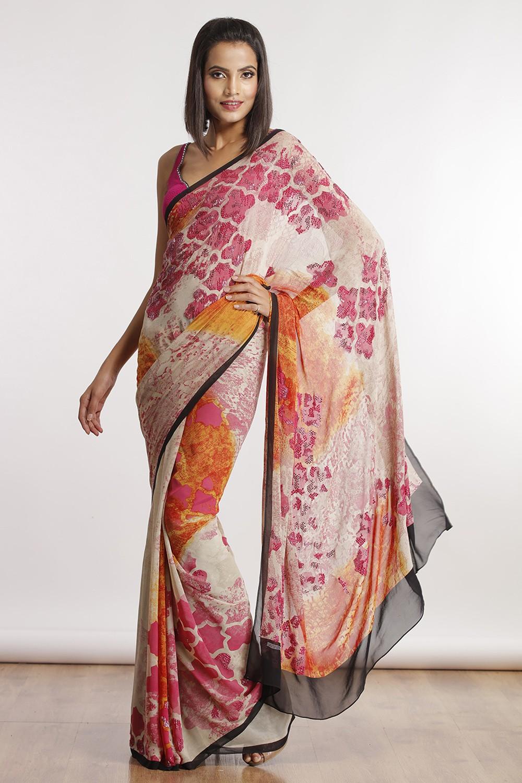 Satya Paul Indian Designer Sarees (4)