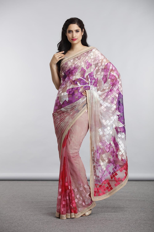 Satya Paul Indian Designer Sarees (6)
