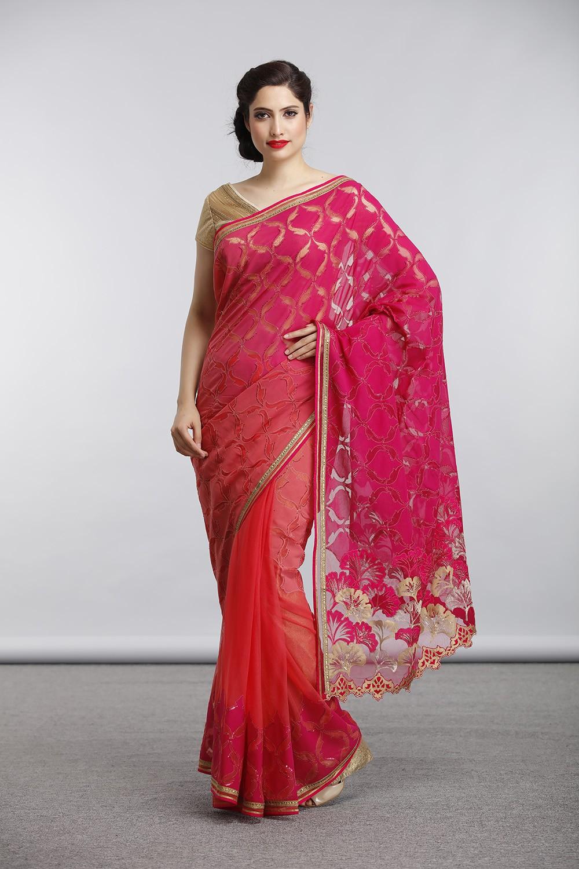 Satya Paul Indian Designer Sarees (7)