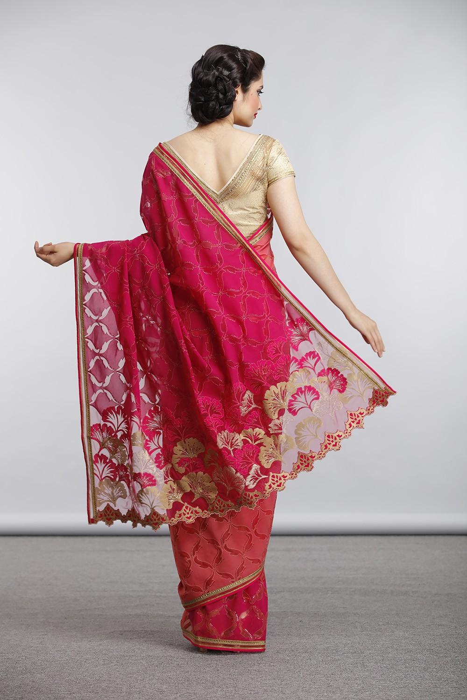 Trendy Indian Wedding Party Wear Ladies Designer Anarkali: Satya Paul Indian Designer Sarees Collection 2019 For