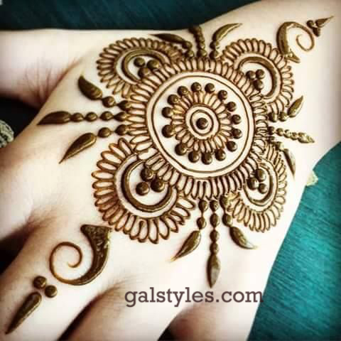 Simple & Best Eid Mehndi Designs for Girls 2016-2017 (10)