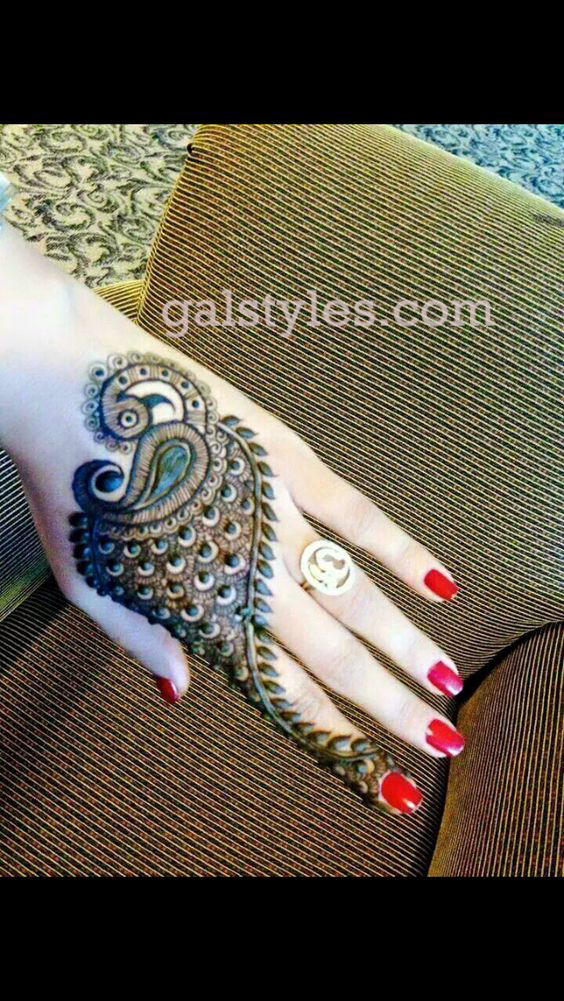 Simple & Best Eid Mehndi Designs for Girls 2016-2017 (18)