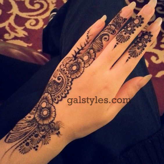 Simple & Best Eid Mehndi Designs for Girls 2016-2017 (20)
