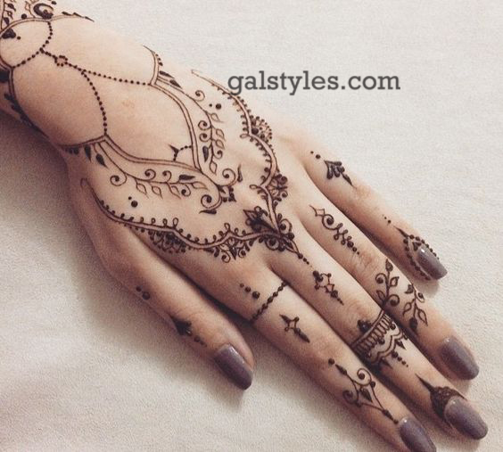 Simple & Best Eid Mehndi Designs for Girls 2016-2017 (26)