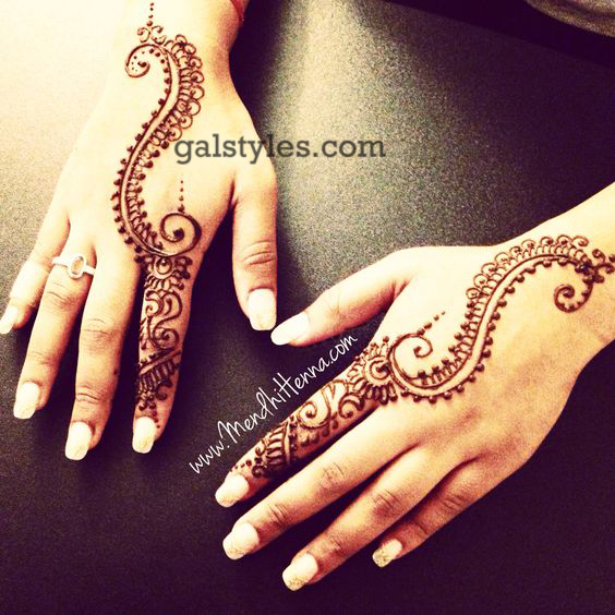 Simple & Best Eid Mehndi Designs for Girls 2016-2017 (27)