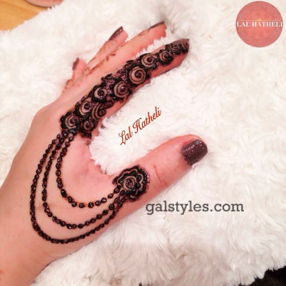 Simple & Best Eid Mehndi Designs for Girls 2016-2017 (28)