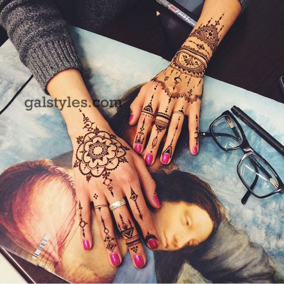 Simple & Best Eid Mehndi Designs for Girls 2016-2017 (29)